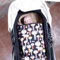 Carry cot footmuff Kokeshi
