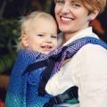 Mochila portabebes para bebés grandes - dark aurora