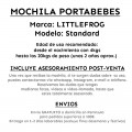 Mochila portabebes Littlefrog - sea abyss - ficha producto