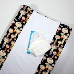 Colchoneta cambiador bebé - elige el estampado