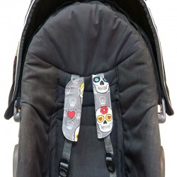 Almohadillas para arnes silla paseo - elige el estampado