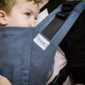 Mochila ergonómica FIdella fusion toddler chevron azul 3