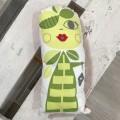 Cojin decorativo - pepona verde