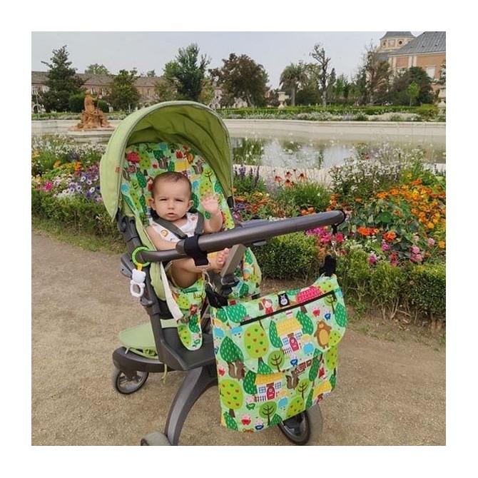 Bolso para carrito bebé caperucita roja