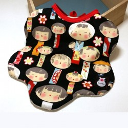 Babero babydaisy - babyjapan geishas