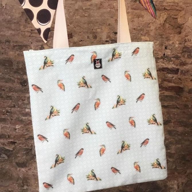 Bolsa tote bebé birds