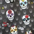 detalle Bolsa tote bebé mexican skulls