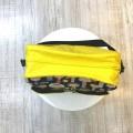 Bolso carro bebé kokeshi con amarillo superior
