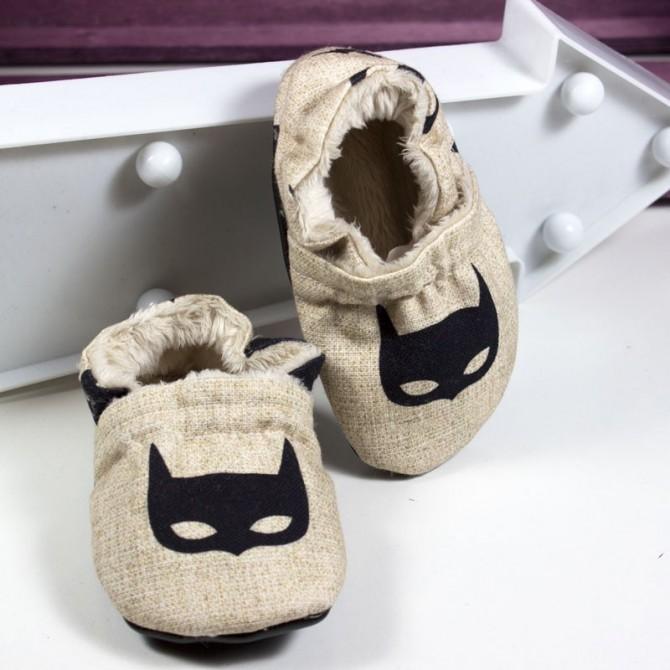 Patucos bebé - batman