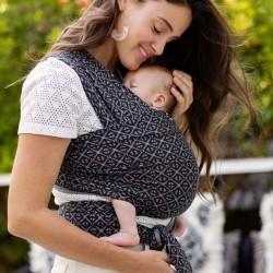 bebé Fular elástico algodón Moby Mosaic