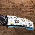 1 Manoplas carrito bebé leones azul