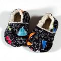 Zapatillas para bebé de tela estampado mates