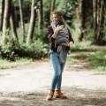 Mei tai Flow-click Fidella - chevron gris claro Toddler 2