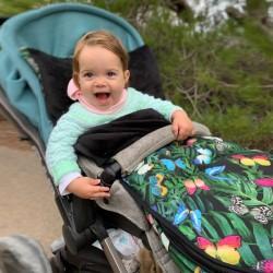 Saco para carrito Jane Muum estampado mariposas