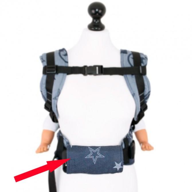 Protector acolchado para cinturones