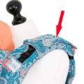 Protector acolchado para cinturones con tu tela favorita