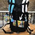 Protector de tirante para mochila portabebés crash boom cinturon