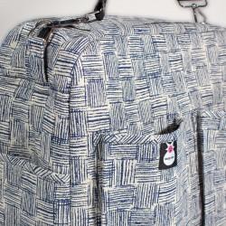 Bolso carro bebé - blue denim pattern