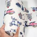 Cojin anti vuelco bebé - vespas vintage
