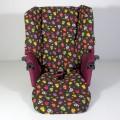 Funda de tela para silla Jane Muum - estampado reversible - calaveras