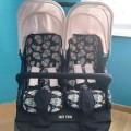 Colchoneta para carrito gemelar Baby Monsters - elige el estampado