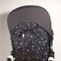 Bolsa respaldo Bugaboo - constelaciones negro