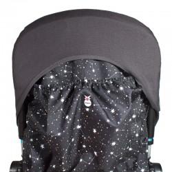 Bolsa Bugaboo para colocar en el respaldo - constelaciones negro