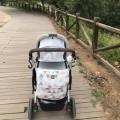 Bolso bebé estampada triangulos pastel
