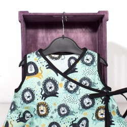 Vestido bebe kimono - leones chic