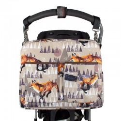 Bolso maternal carrito - winter fox