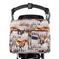 Bolso carro bebé - winter fox