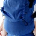 Mochila de porteo - azul marino herringbone - Little Frog