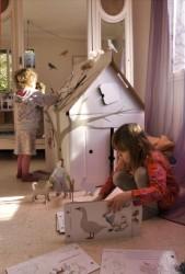 Casa de carton niños