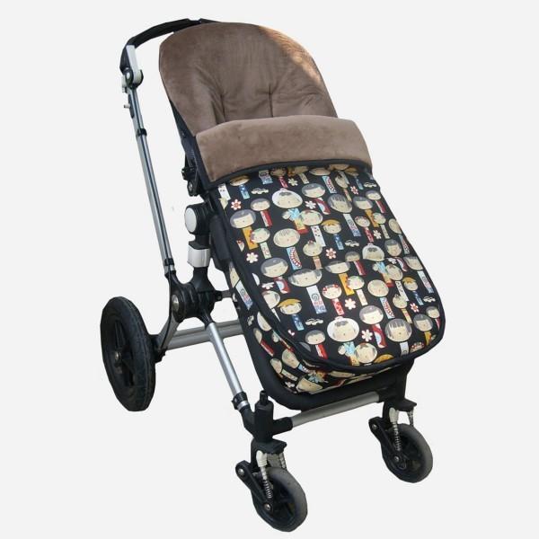 Saco silla bugaboo personalizable teoyleo for Saco para silla maclaren