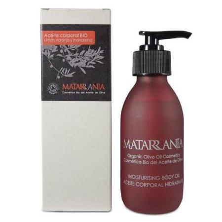 Aceite hidrantante para el cuerpo con aroma de citricos