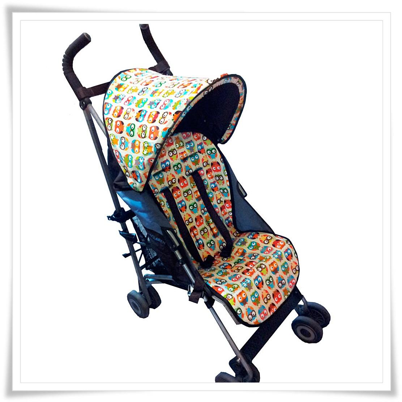Colchoneta silla paseo elige tu estilo y moderniza tu silla for Mclaren carro de paseo