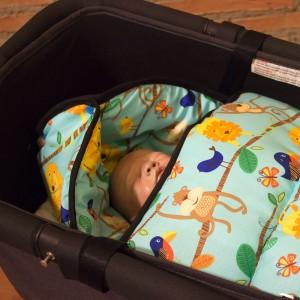 Saco capazo bebé moderno