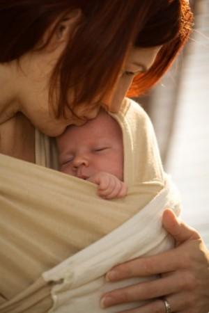 Leche materna y besos
