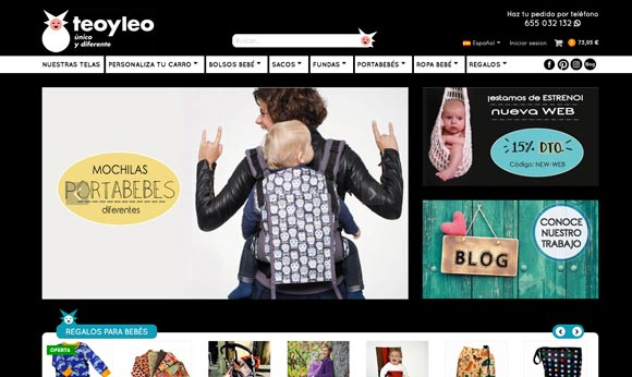 Nueva web Teoyleo
