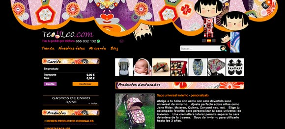 Antigua web de Teoyleo