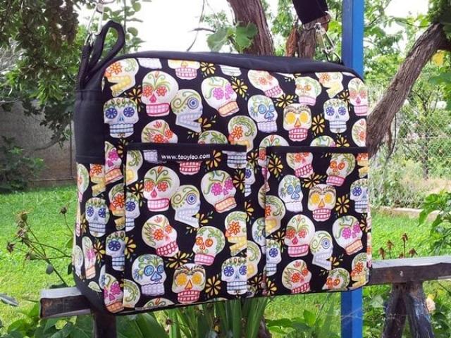 Bolsos personalizados Teoyleo calaveras