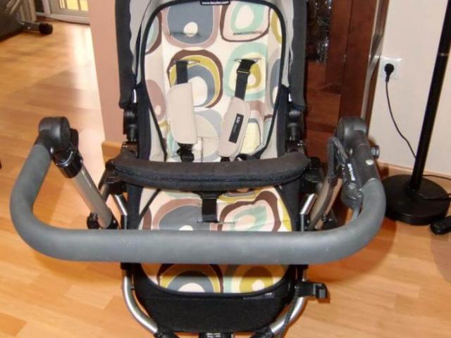 Colchoneta silla Jane Rider con circulos
