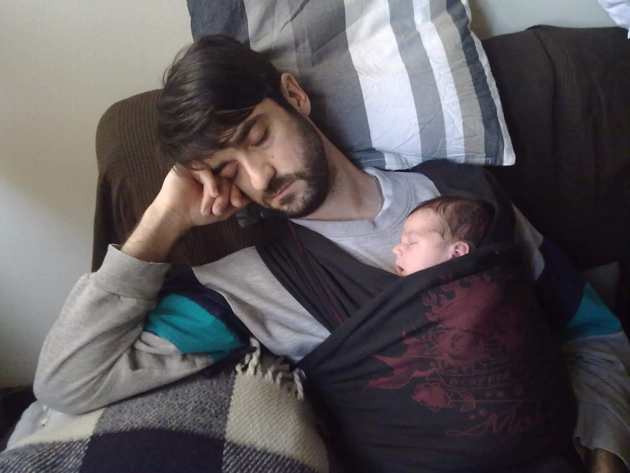 Fular portabebes siesta bebe