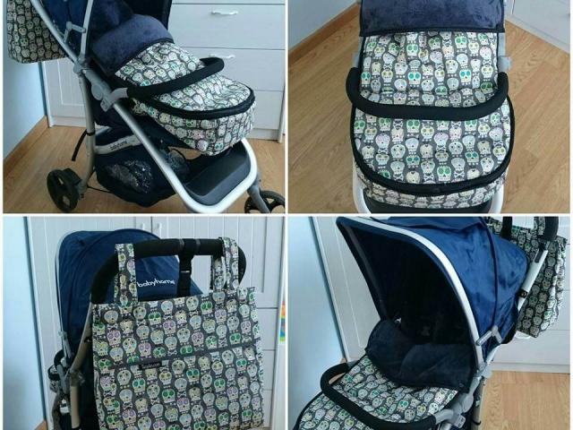 Bolso silla Babyhome con calaveras