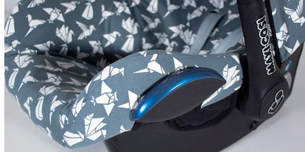 Detalle funda maxi cosi Origami gris