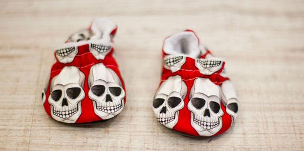 Regalos originales bebes - patucos rockeros