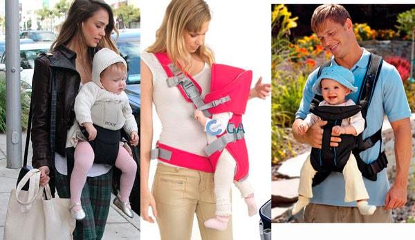 diferencias entre mochilas portabebés ergonómicas y colgonas