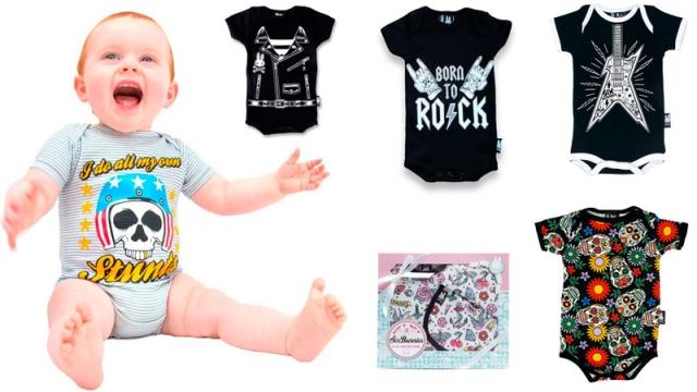 Regalos Originales Para Ninos Recien Nacidos.Bebes Recien Nacidos Regalos Rockeros Para Padres Amantes