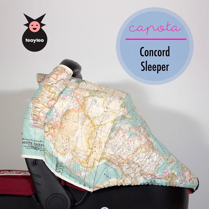 fundas capazo Concord Sleeper estampada