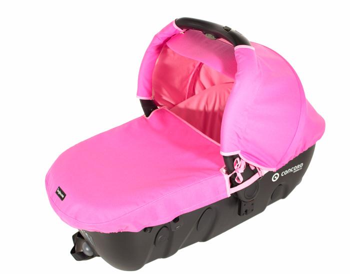 fundas capazo Concord Sleeper color rosa
